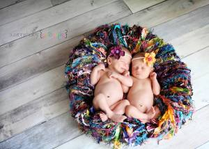 Newborn Fringe Throw Blanket