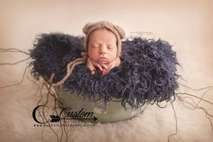 Ink Sheep Faux Flokati Fur by Custom Photo Props