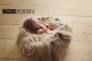 Wolf faux sheepskin fur