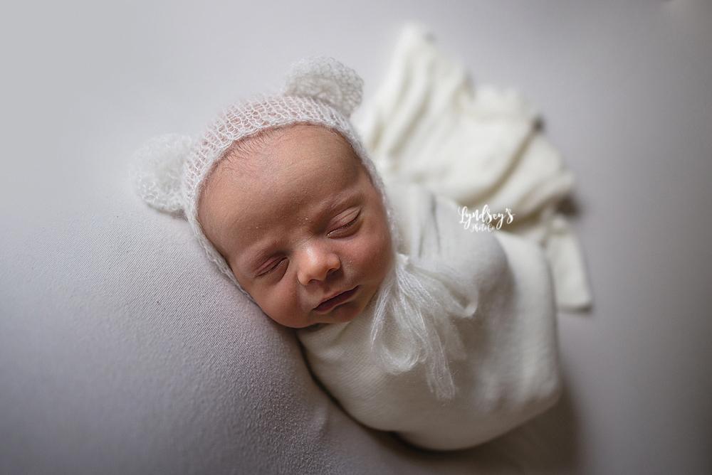 Newborn Bear Bonnet